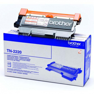 Brother TN-2220 (TN2220) - toner, black (schwarz)